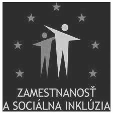 Zamestnanost a socialna inkluzia - logo