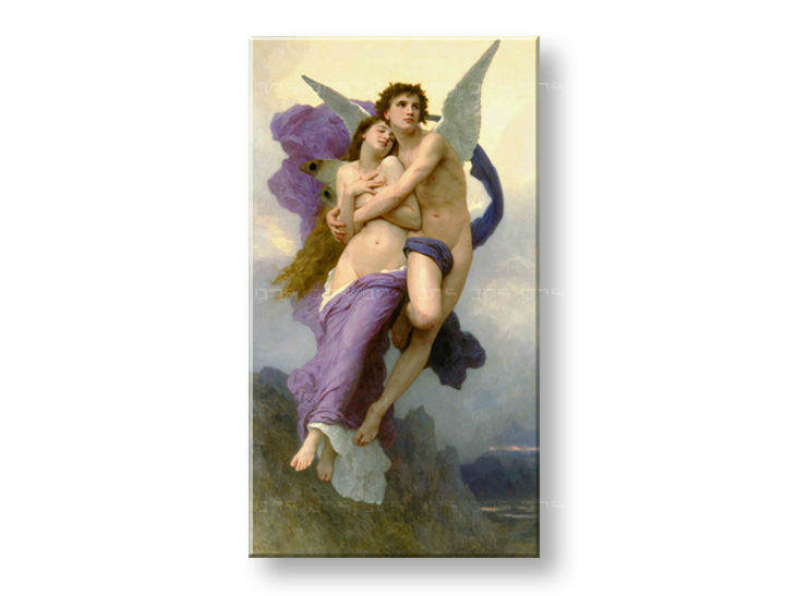 Obraz na plátne Zľava 60%  THE ABDUCTION OF PSYCHE-W.Bouguereau 90x50 cm  REP017