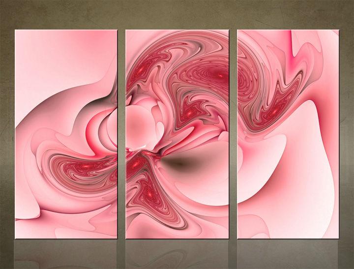 Image of HD Obraz na stenu 3 dielny ABSTRAKT AB003C3 (HD obrazy na plátne)