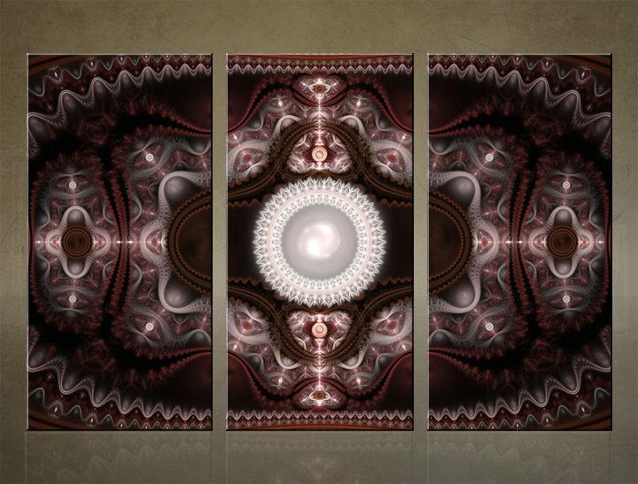 Image of HD Obraz na stenu 3 dielny ABSTRAKT AB004C3 (HD obrazy na plátne)