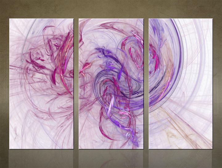 Image of HD Obraz na stenu 3 dielny ABSTRAKT AB005C3 (HD obrazy na plátne)