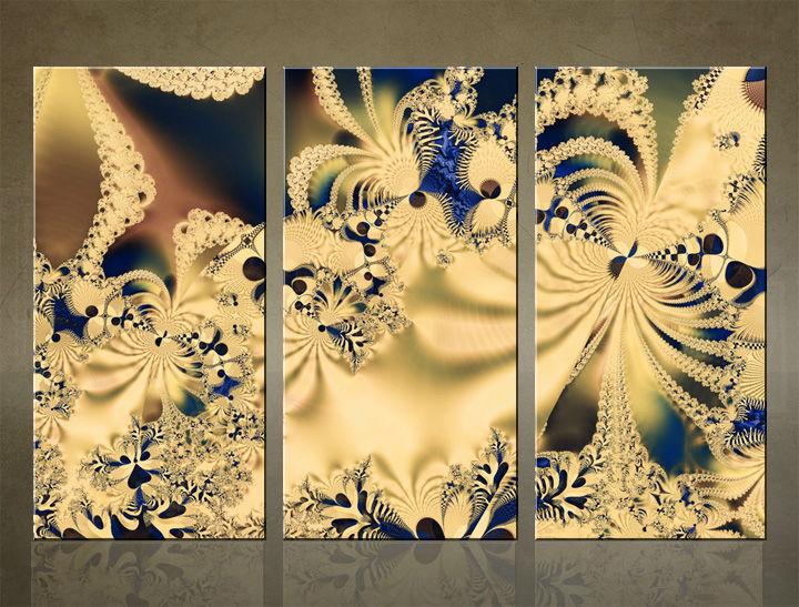 Image of HD Obraz na stenu 3 dielny ABSTRAKT AB007C3 (HD obrazy na plátne)