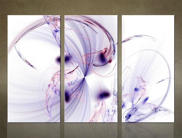 Image of HD Obraz na stenu 3 dielny ABSTRAKT AB009C3 (HD obrazy na plátne)