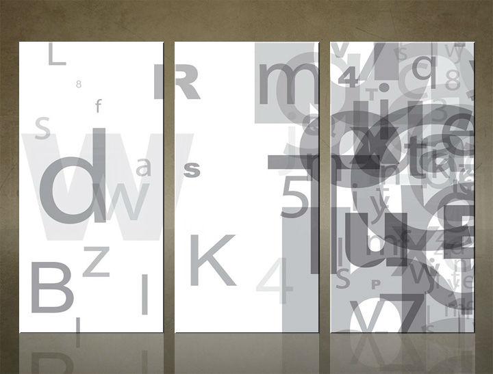 Image of Obraz na stenu 3 dielny ABSTRAKT ABI_0001_3ELX (obraz na plátne)