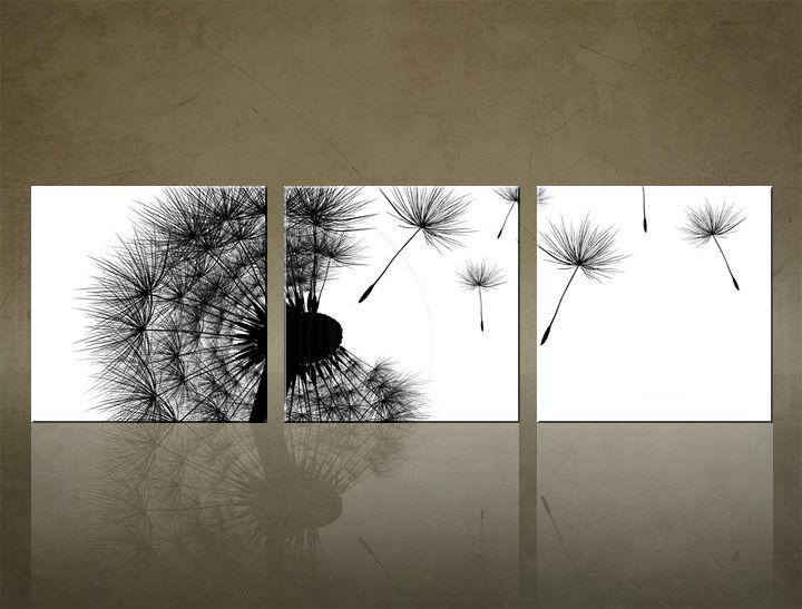 Image of Obraz na stenu 3 dielny ABSTRAKT ABI_0004_3ELK (štvorce 3 dielny obraz na plátne)