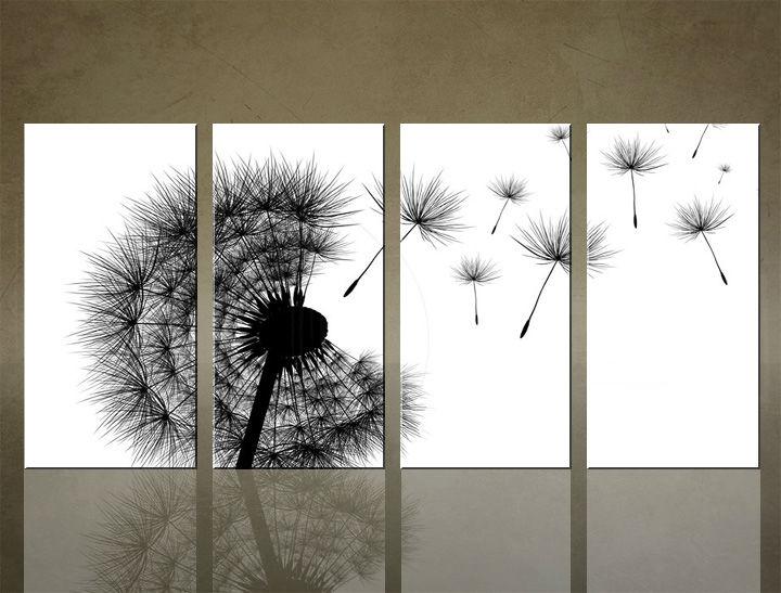 Image of Obraz na stenu 4 dielny ABSTRAKT ABI_0004_4ELX (obrazy na plátne)