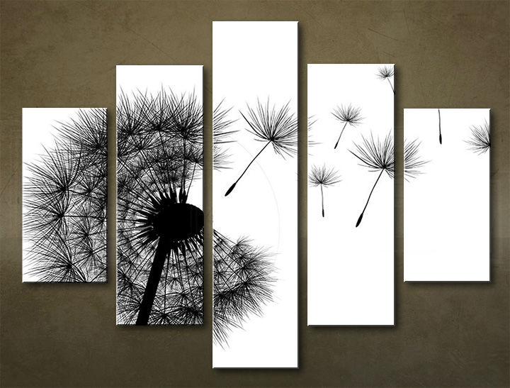 Image of Obraz na stenu 5 dielny ABSTRAKT ABI_0004_5EL (obraz na plátne)