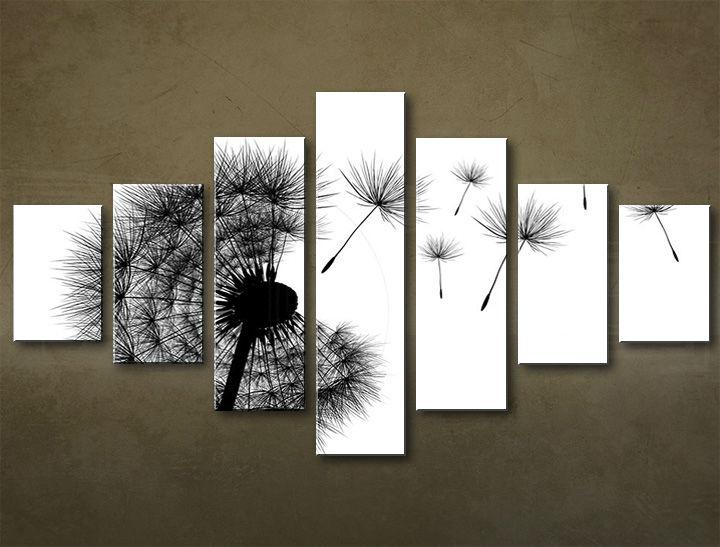 Image of Obraz na plátne 7 dielny ABSTRAKT ABI_0004_7EL (obrazy na stenu)