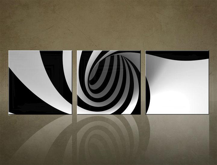 Image of Obraz na stenu 3 dielny ABSTRAKT ABI_0007_3ELK (štvorce 3 dielny obraz na plátne)