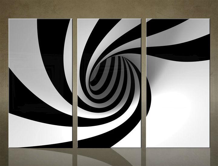 Image of Obraz na stenu 3 dielny ABSTRAKT ABI_0007_3ELX (obraz na plátne)