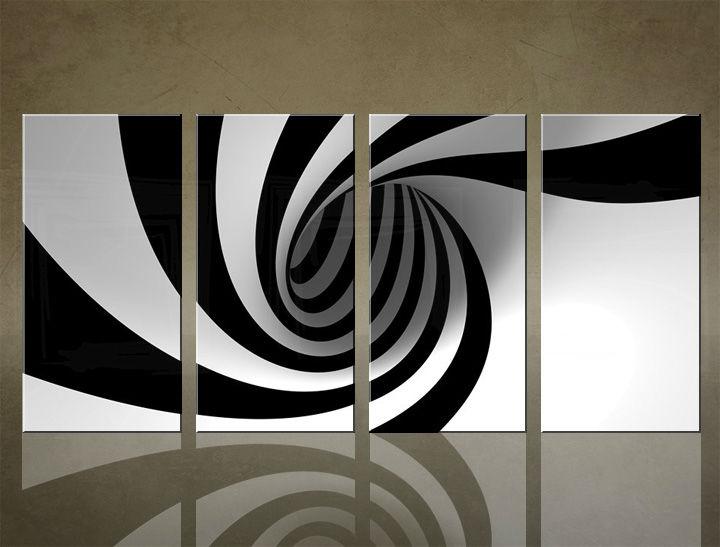 Image of Obraz na stenu 4 dielny ABSTRAKT ABI_0007_4ELX (obrazy na plátne)