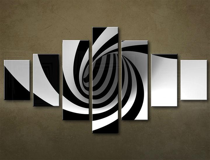 Image of Obraz na plátne 7 dielny ABSTRAKT ABI_0007_7EL (obrazy na stenu)