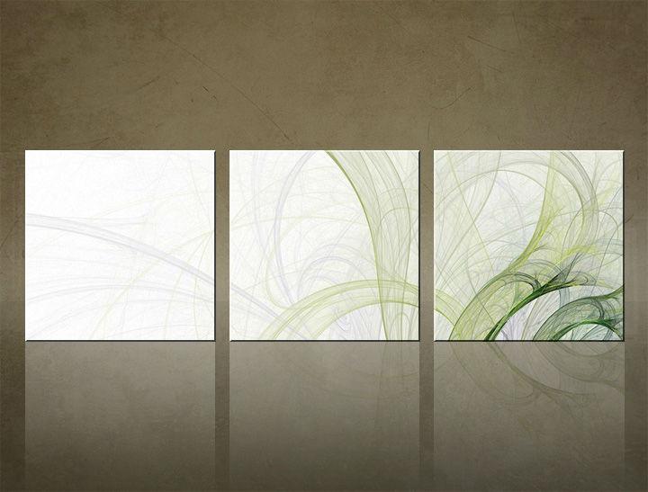 Image of Obraz na stenu 3 dielny ABSTRAKT ABI_0017_3ELK (štvorce 3 dielny obraz na plátne)