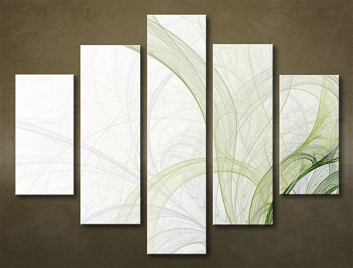 Image of Obraz na stenu 5 dielny ABSTRAKT ABI_0017_5EL (obraz na plátne)