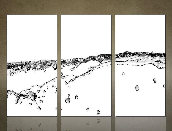 Image of Obraz na stenu 3 dielny ABSTRAKT ABI_0019_3ELX (obraz na plátne)