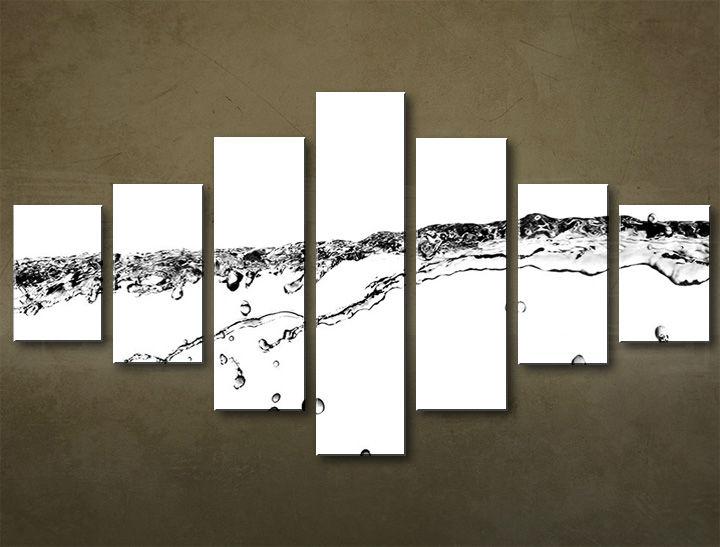 Image of Obraz na plátne 7 dielny ABSTRAKT ABI_0019_7EL (obrazy na stenu)