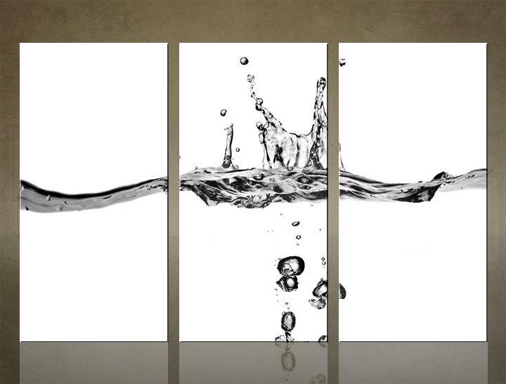 Image of Obraz na stenu 3 dielny ABSTRAKT ABI_0021_3ELX (obraz na plátne)