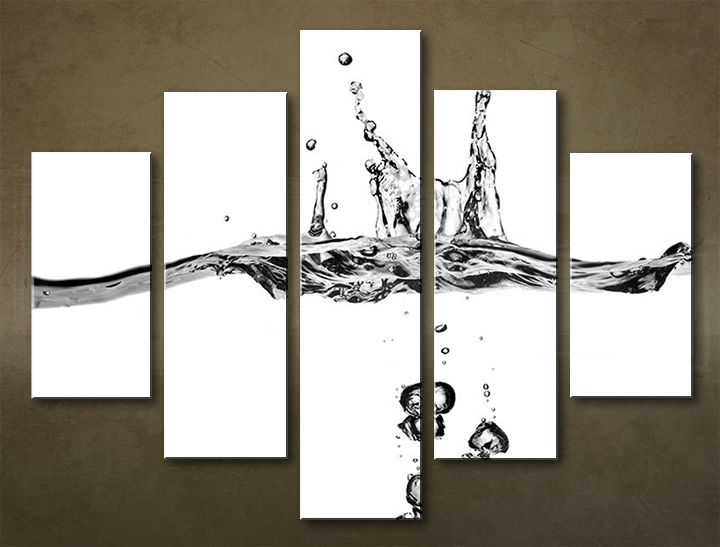 Image of Obraz na stenu 5 dielny ABSTRAKT ABI_0021_5EL (obraz na plátne)