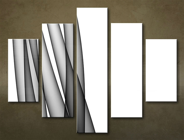 Image of Obraz na stenu 5 dielny ABSTRAKT ABI_0027_5EL (obraz na plátne)