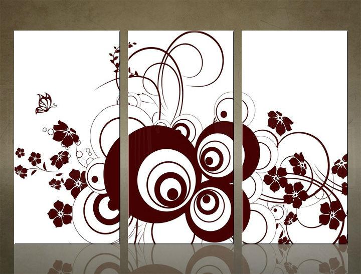 Image of Obraz na stenu 3 dielny ABSTRAKT ABI_0028_3ELX (obraz na plátne)