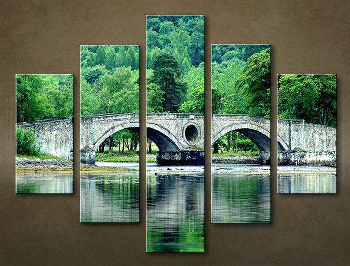 Image of Obraz na stenu 5 dielny ARCHITEKTÚRA ARC_0001_5EL (obraz na plátne)