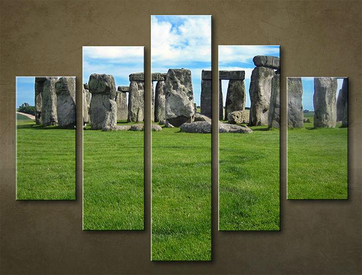 Image of Obraz na stenu 5 dielny ARCHITEKTÚRA ARC_0013_5EL (obraz na plátne)