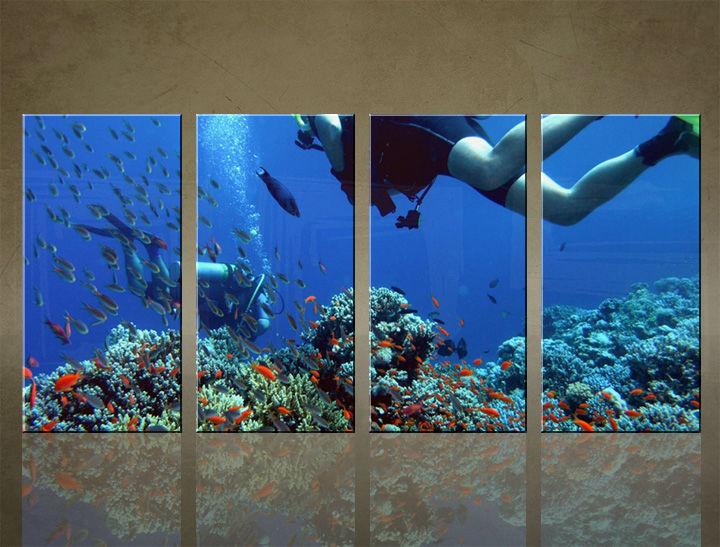 Image of Obraz na stenu 4 dielny INŠPIRÁCIA CZL_0006_4ELX (obrazy na plátne)
