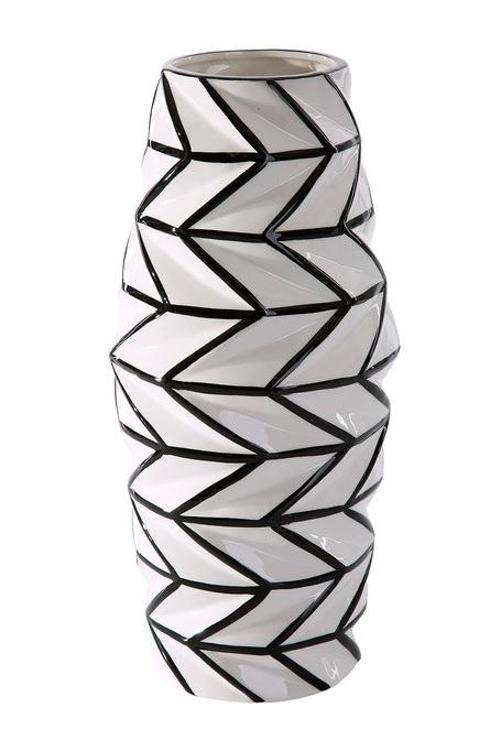 Luxusná váza BROKE 16x16x34 cm (Keramické vázy)