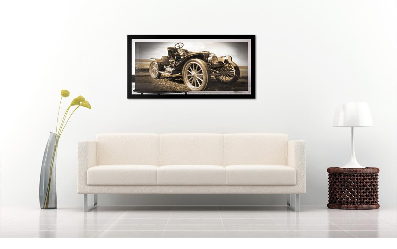 Obraz Auto na zrkadle Mirrora 46 - 50x100 cm (Obrazy Mirrora)
