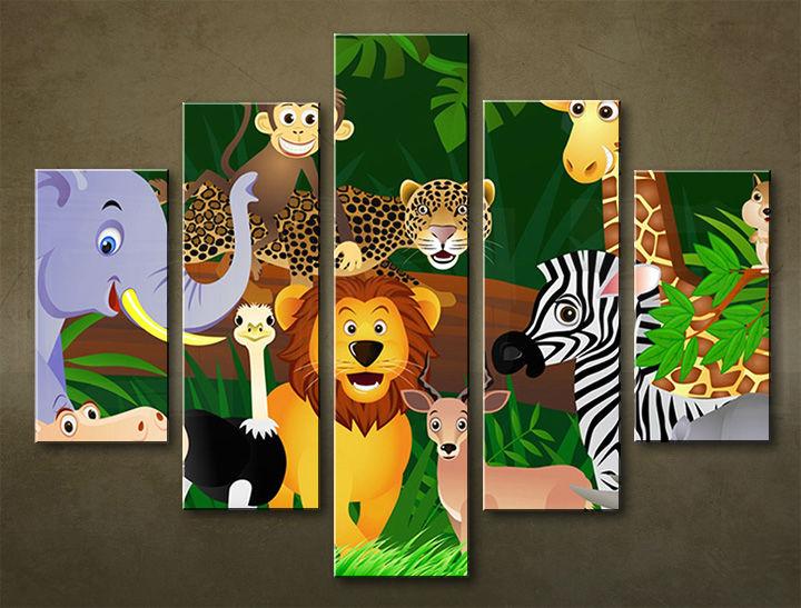 Image of Obraz na stenu 5 dielny DETI DZI_0008_5EL (obraz na plátne)