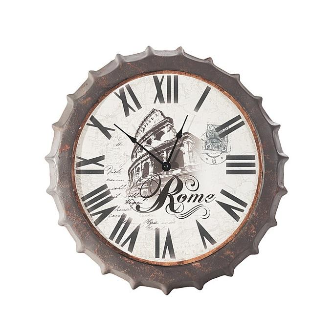 Moderné nástenné hodiny CITY 42 cm (Nástenné hodiny)