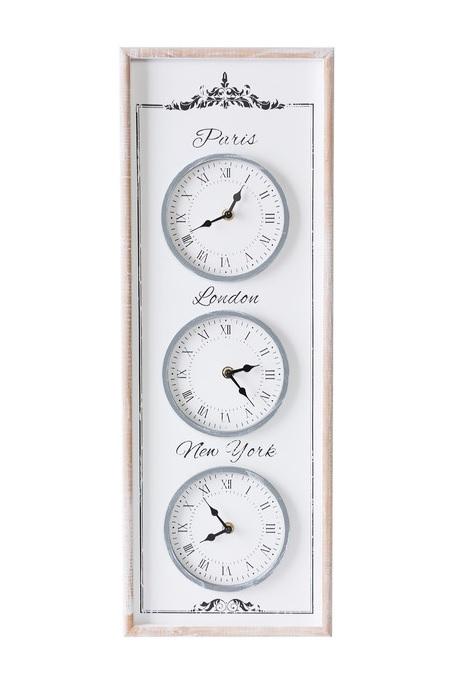 Moderné nástenné hodiny TRIO 67 cm (Nástenné hodiny)