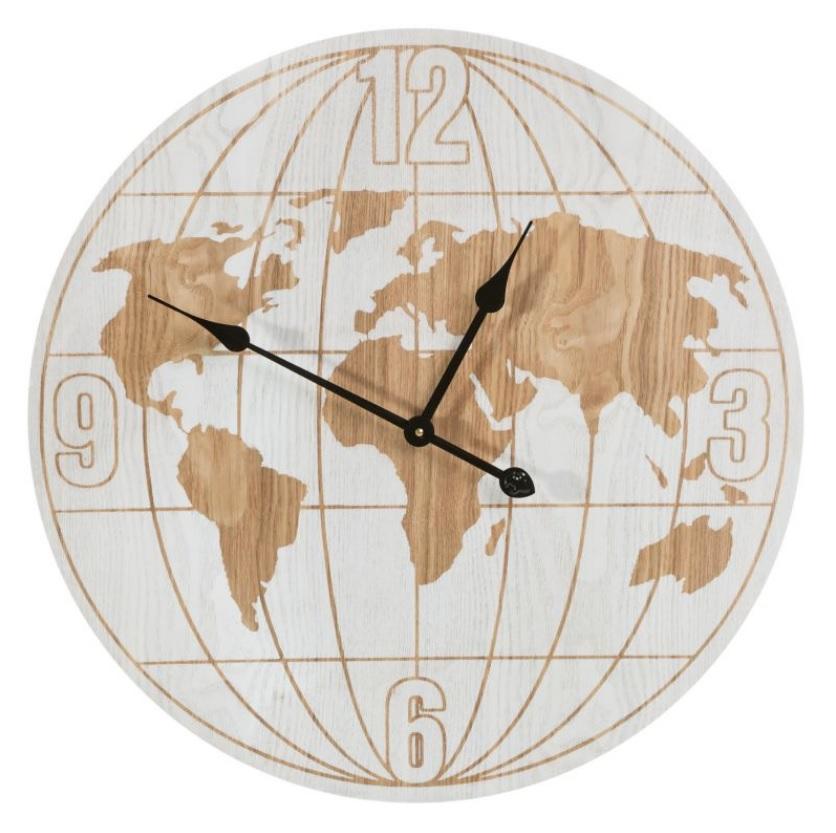 Nástenné hodiny VINTAGE 60x5 cm (nástenné hodiny)