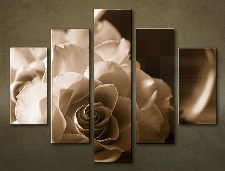 Image of Obraz na stenu 5 dielny KVETY KBI_0003_5EL (obraz na plátne)