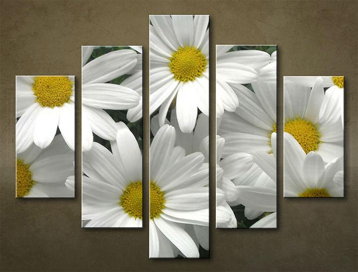 Image of Obraz na stenu 5 dielny KVETY KBI_0005_5EL (obraz na plátne)
