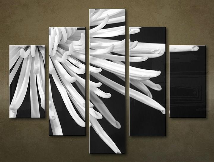 Image of Obraz na stenu 5 dielny KVETY KBI_0007_5EL (obraz na plátne)