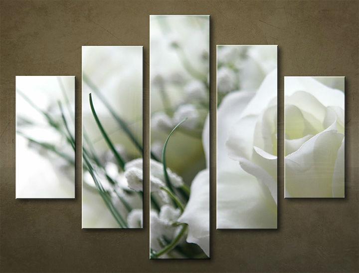Image of Obraz na stenu 5 dielny KVETY KBI_0010_5EL (obraz na plátne)