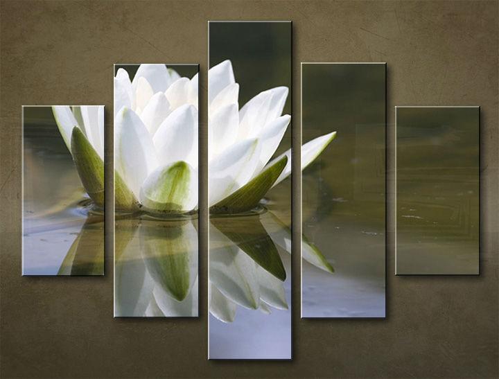 Image of Obraz na stenu 5 dielny KVETY KBI_0011_5EL (obraz na plátne)