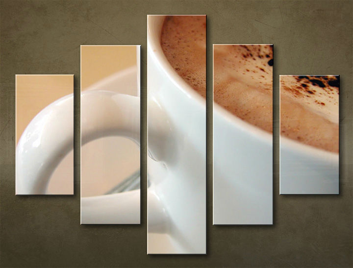 Image of Obraz na stenu 5 dielny KUCHYŇA KUC_0001_5EL (obraz na plátne)