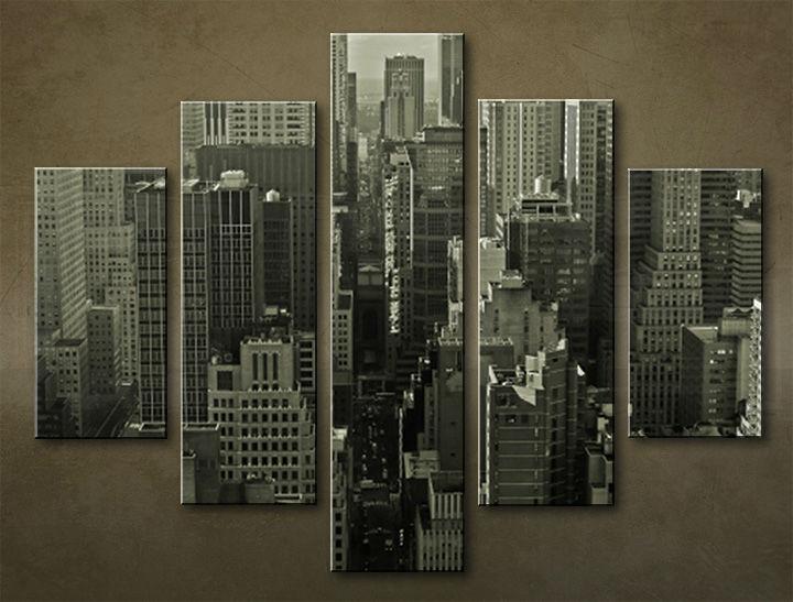Image of Obraz na stenu 5 dielny MESTO MIA_0006_5EL (obraz na plátne)