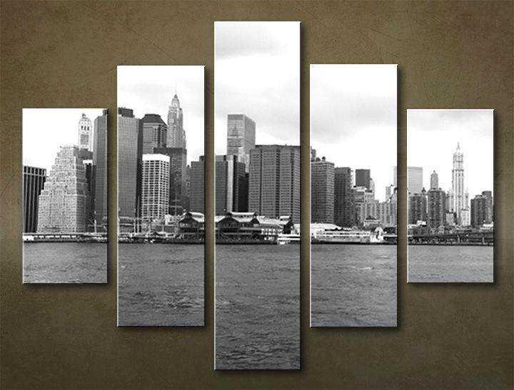 Image of Obraz na stenu 5 dielny MESTO MIA_0007_5EL (obraz na plátne)