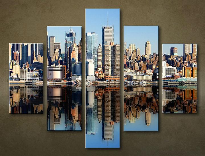 Image of Obraz na stenu 5 dielny MESTO MIA_0023_5EL (obraz na plátne)