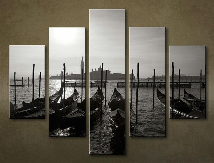 Image of Obraz na stenu 5 dielny MESTO MIA_0044_5EL (obraz na plátne)
