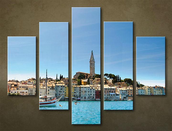 Image of Obraz na stenu 5 dielny MESTO MIA_0056_5EL (obraz na plátne)