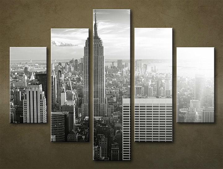 Image of Obraz na stenu 5 dielny MESTO MIA_0072_5EL (obraz na plátne)