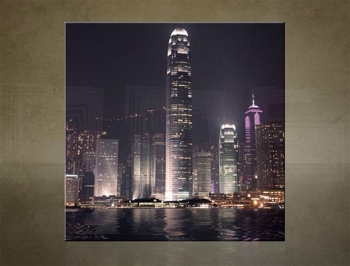 Obraz na stenu ŠTVOREC MESTO - AHD25509
