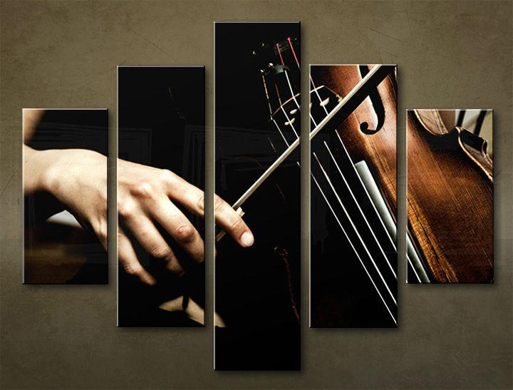 Image of Obraz na stenu 5 dielny UMENIE MUZ_0002_5EL (obraz na plátne)
