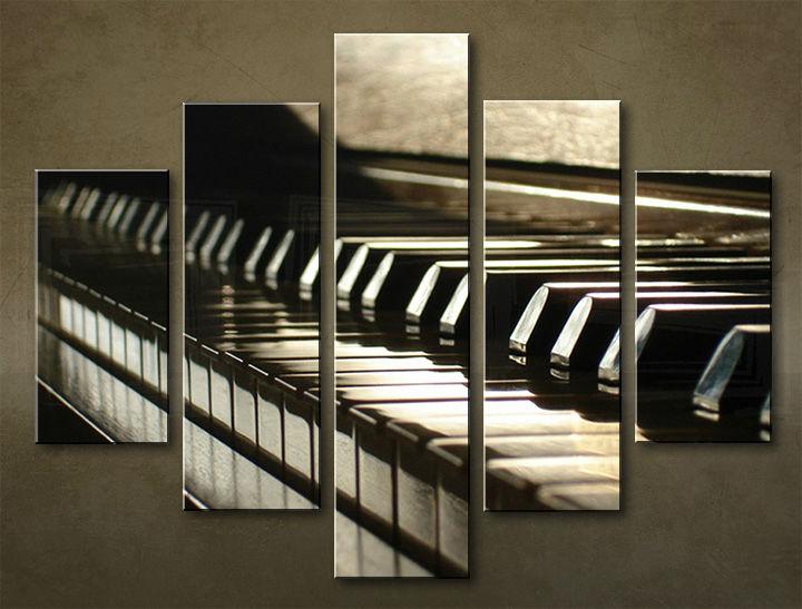 Image of Obraz na stenu 5 dielny UMENIE MUZ_0006_5EL (obraz na plátne)