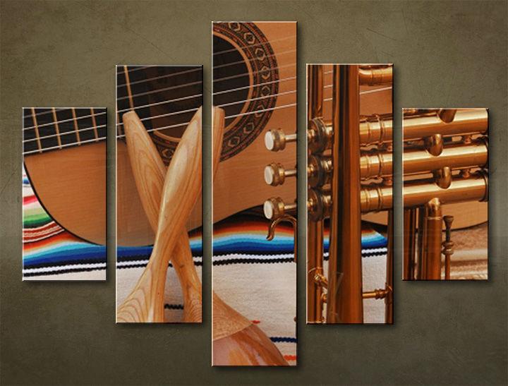 Image of Obraz na stenu 5 dielny UMENIE MUZ_0007_5EL (obraz na plátne)