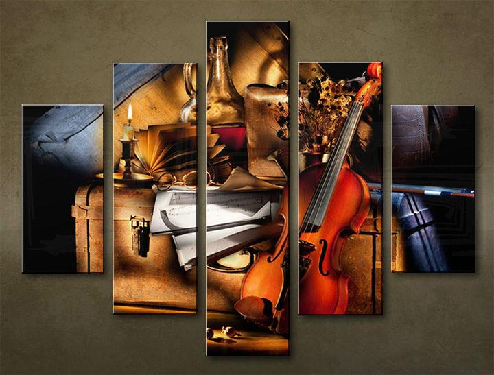 Image of Obraz na stenu 5 dielny UMENIE MUZ_0009_5EL (obraz na plátne)